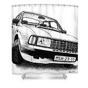Skoda 120l Shower Curtain