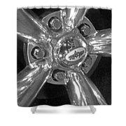 Skop Wheel Shower Curtain