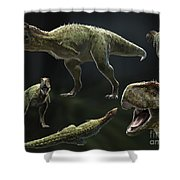 Skorpiovenator Bustingorryi A Genus Shower Curtain