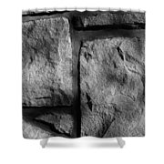 Skc 0167 Textures And Lines Shower Curtain