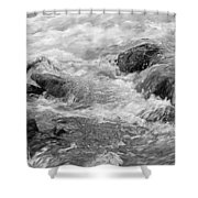 Skc 0212 Facing The Tide Shower Curtain