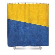 Skc 0303 Co-existance Shower Curtain