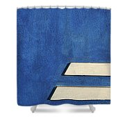 Skc 0304 Parallel Paths Shower Curtain