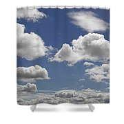 Skc 0328 The June Clouds Shower Curtain