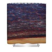 Skc 0338 Sky Desert Shower Curtain