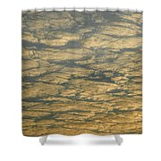 Skc 0341 Cloud Quilt  Shower Curtain