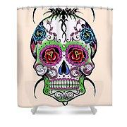 Skull 11 Shower Curtain