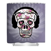Skull 2 Shower Curtain by Mark Ashkenazi