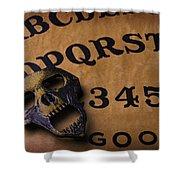 Skull Planchette Shower Curtain