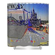 Skway Magic Kingdom Shower Curtain