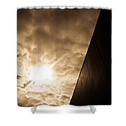 Sky Above The Wall Shower Curtain