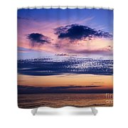 Sky After Sunset Shower Curtain