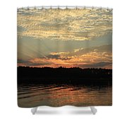 Sky And Sea Shower Curtain