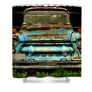 Sky Blue And Still Cool Shower Curtain