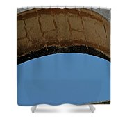 Sky Cutter Shower Curtain