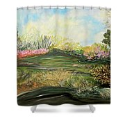 Sky Dazzle Shower Curtain