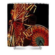 Sky Diver - Carnival Shower Curtain