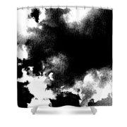 Sky Explosion Shower Curtain