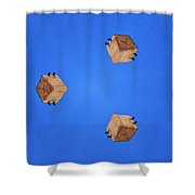 Sky Fortress Progression 1 Shower Curtain
