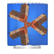 Sky Fortress Progression 5 Shower Curtain