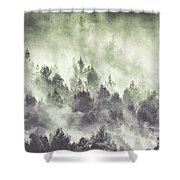 Sky Joins The Earth Shower Curtain