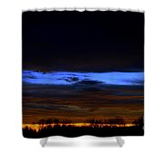 Sky Layers Shower Curtain