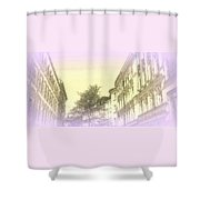 Dreaming Of Our Mostly Sky Life Shower Curtain
