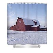 Sky Line Farm Shower Curtain