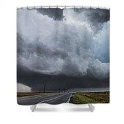 Sky Meets Earth Shower Curtain