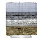 Sky Sea Surf And Sands Shower Curtain
