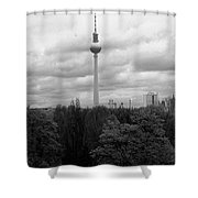Sky Over Berlin Shower Curtain