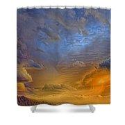 Sky Painting Photo 3621 Shower Curtain
