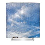 Sky Paintings IIi Shower Curtain