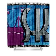 Sky Ride Panorama Shower Curtain