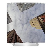 Sky Scrapers Shower Curtain