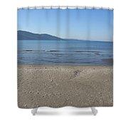 Sky Sea Sand Shower Curtain