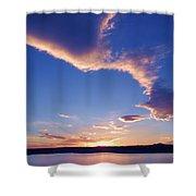 Sky Wonders Shower Curtain