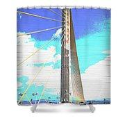 Skybridge Shower Curtain