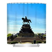 Eakins Oval Shower Curtain