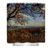 Skyline Drive Shower Curtain