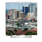Skyline Of Birmingham Shower Curtain