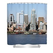 Skyline Of Seattle Shower Curtain
