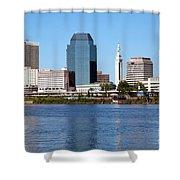 Skyline Of Springfield Shower Curtain