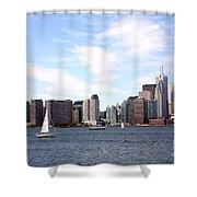 Skyline Of Toronto Ontario Shower Curtain