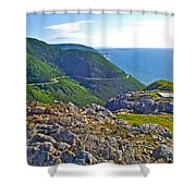 Skyline Trail And Road Through Cape Breton Highlands Np-ns Shower Curtain