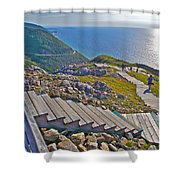 Skyline Trail In Cape Breton Highlands Np-ns Shower Curtain