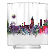 Skyline Warsaw Shower Curtain