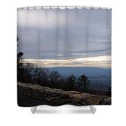 Skyline2925 Shower Curtain