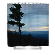 Skyline3 Shower Curtain