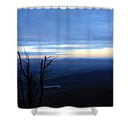 Skyline5 Shower Curtain